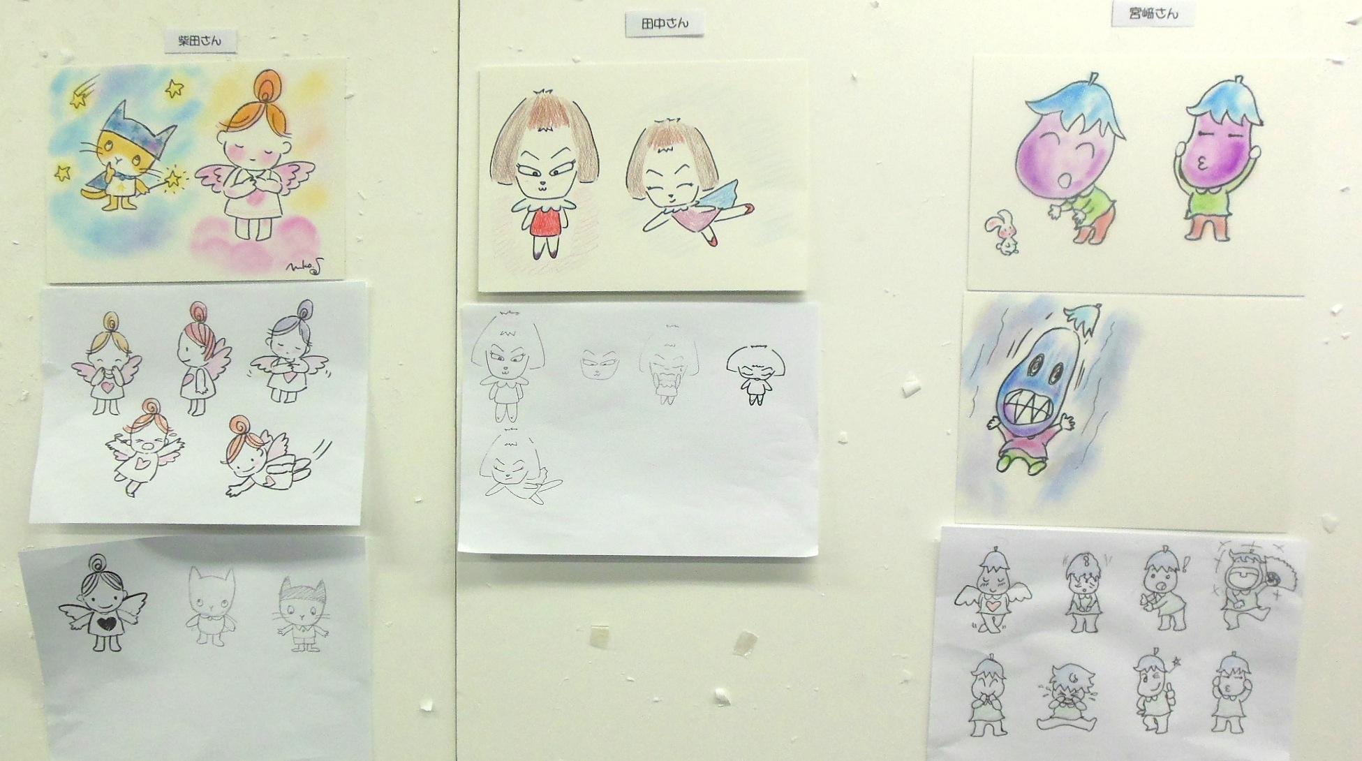 キャラクターアートの基礎講座5_e0082852_1064555.jpg