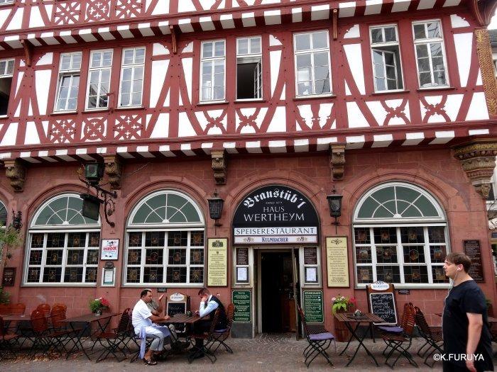 ドイツ9日間の旅 27 フランクフルト・レーマー広場_a0092659_18244384.jpg