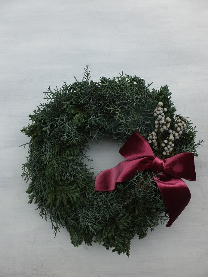 オークリーフ(クリスマスリースⅠ)_f0049672_1203083.jpg