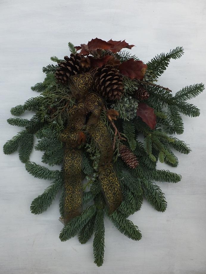 オークリーフ(クリスマスリースⅠ)_f0049672_12104055.jpg