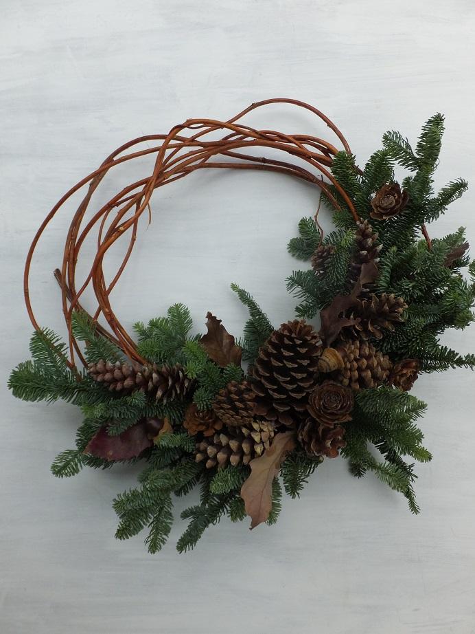 オークリーフ(クリスマスリースⅠ)_f0049672_12205726.jpg