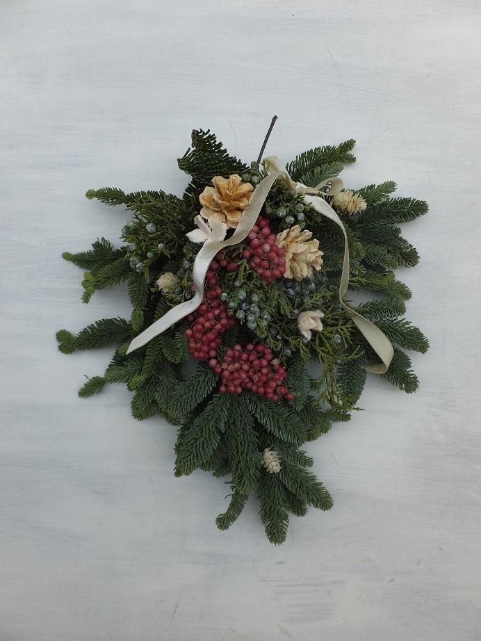 オークリーフ(クリスマスリースⅠ)_f0049672_1233358.jpg