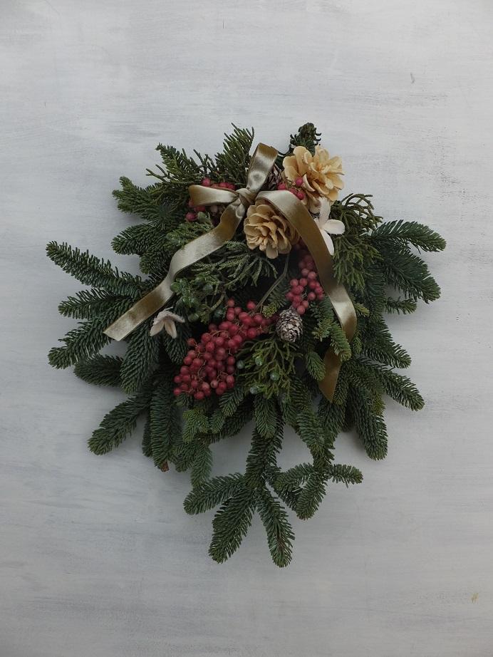 オークリーフ(クリスマスリースⅠ)_f0049672_1261026.jpg