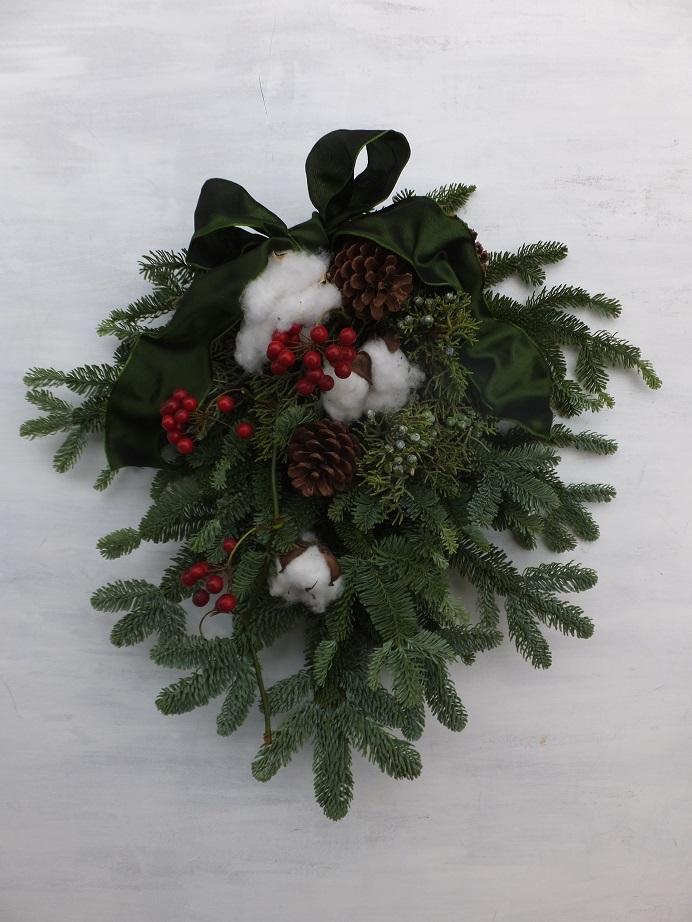 オークリーフ(クリスマスリースⅠ)_f0049672_1293748.jpg