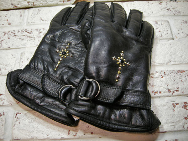 studs work (leather glove)_f0161305_13114683.jpg