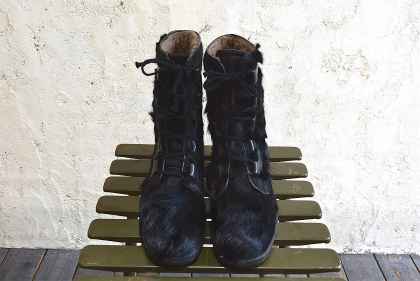 Seal skin lace up boots_f0226051_13553878.jpg