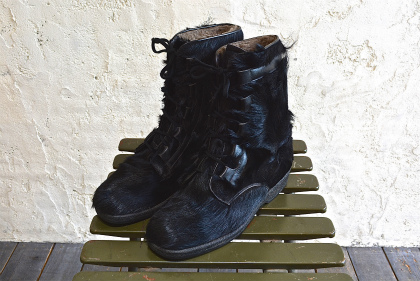Seal skin lace up boots_f0226051_1357121.jpg