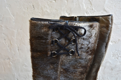 Seal skin lace up boots_f0226051_14281693.jpg
