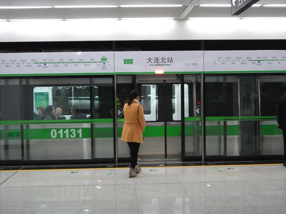 今年5月に続き、10月末大連の地下鉄の2本目が開通しました_b0235153_1221539.jpg