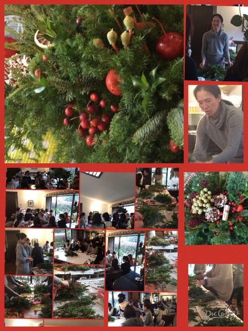 クリスマスドロップリースセミナー_d0237757_20355787.jpg