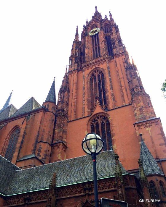 ドイツ9日間の旅 28 フランクフルト大聖堂_a0092659_12524827.jpg