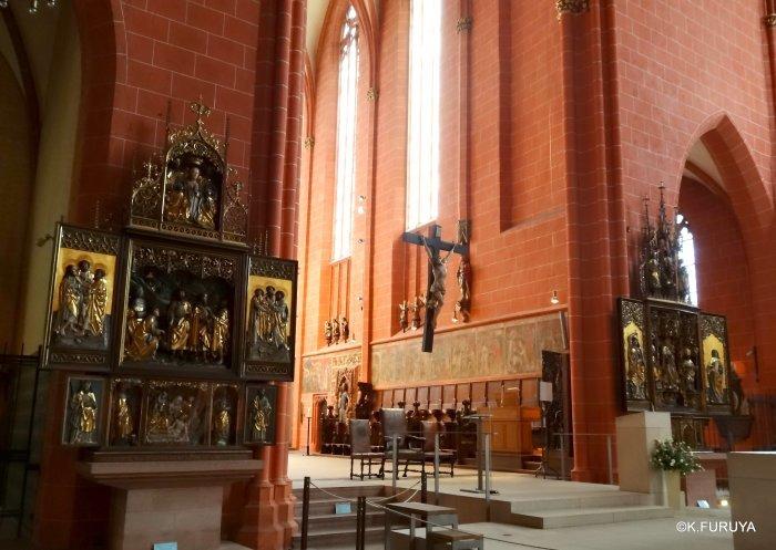 ドイツ9日間の旅 28 フランクフルト大聖堂_a0092659_13074592.jpg