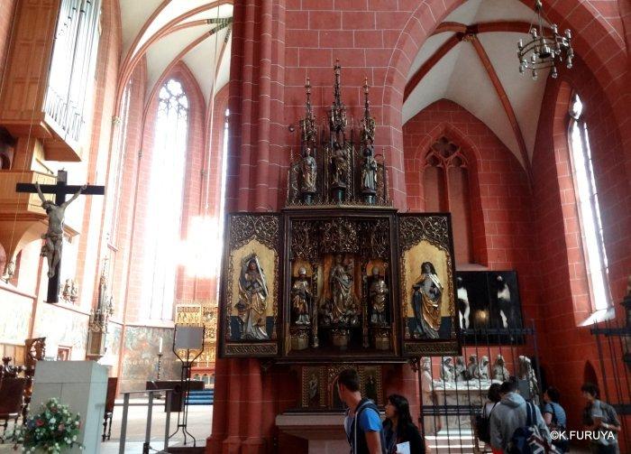 ドイツ9日間の旅 28 フランクフルト大聖堂_a0092659_13084498.jpg