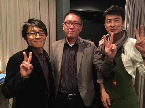 友人の歌手 川元清史 2015年ラスト 赤坂コンサート_a0112393_14062259.jpg