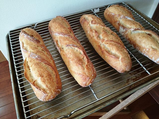 古代小麦のフランスパン♪_e0167593_1335138.jpg