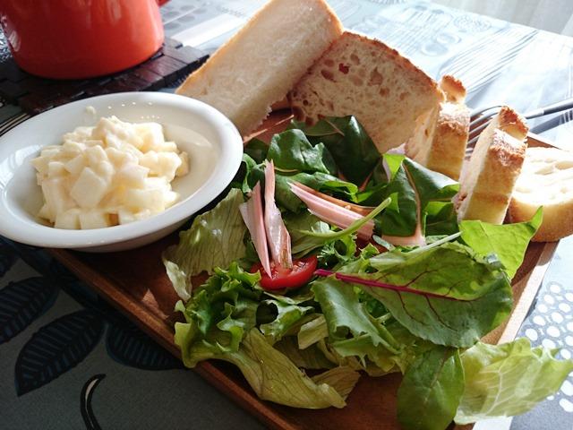 古代小麦のフランスパン♪_e0167593_142165.jpg
