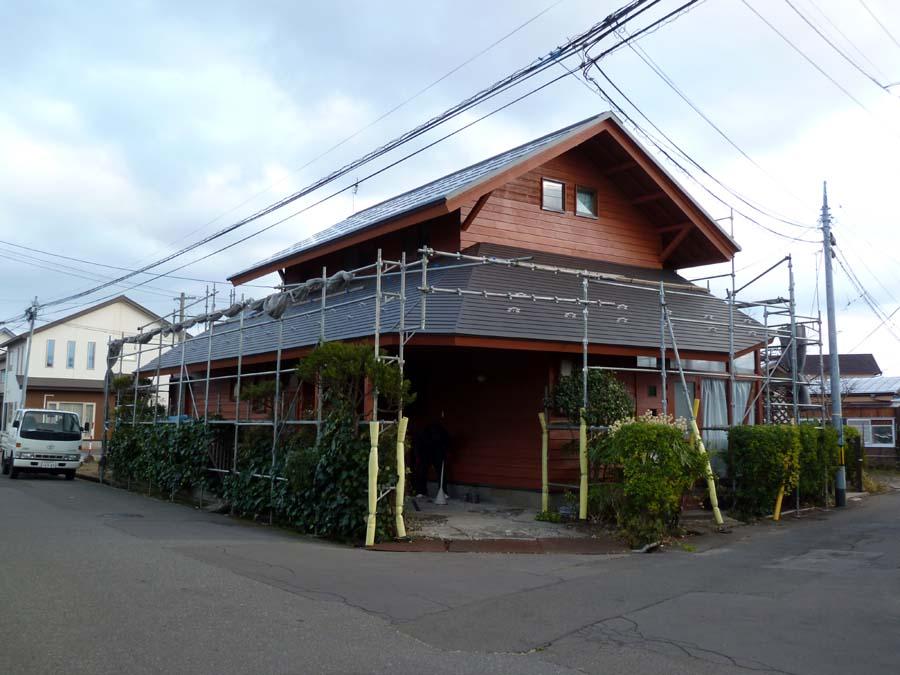 N様邸の屋根葺替及び外部補修工事_f0150893_1852290.jpg