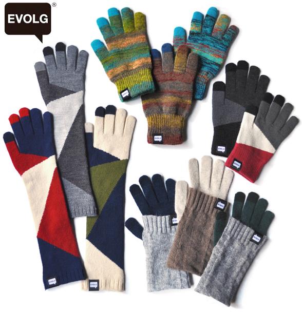 EVOLG  touch panel knit glove !_d0193211_14504551.jpg