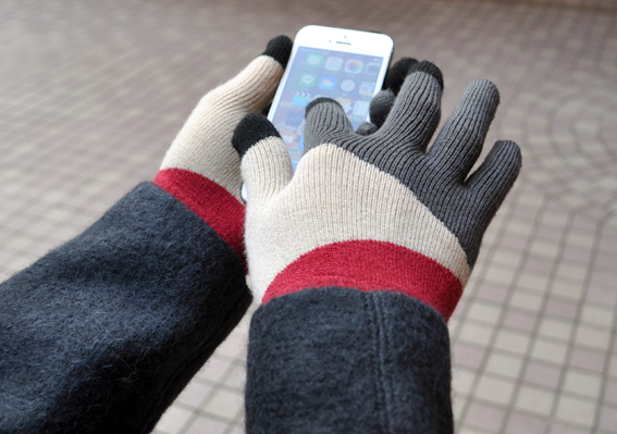 EVOLG  touch panel knit glove !_d0193211_145404.jpg