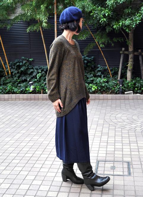 キャメル100% 裾カーブセーター  / FACTORY_d0193211_212402.jpg