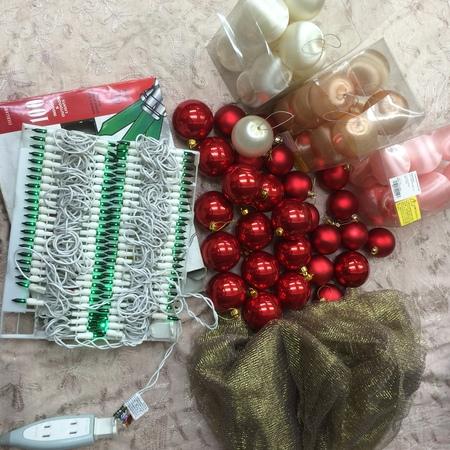 ネットDEガレージセール第四弾 クリスマスツリーの飾り_a0042928_16353480.jpg