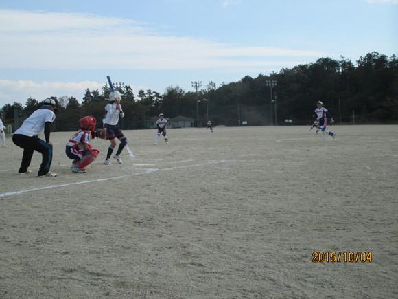 練習試合 対蛭川中 平成27年10月4日(日)_d0010630_1174214.jpg