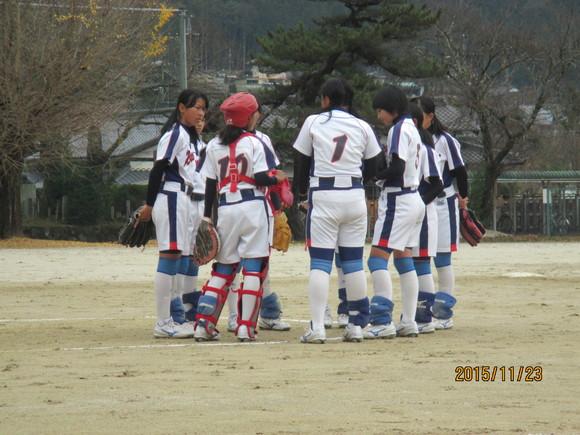 練習試合  対福岡中  平成27年11月23日(月)_d0010630_12111287.jpg