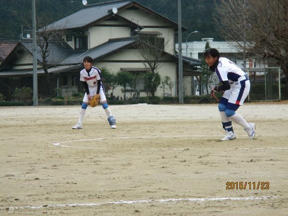 練習試合  対福岡中  平成27年11月23日(月)_d0010630_12112745.jpg