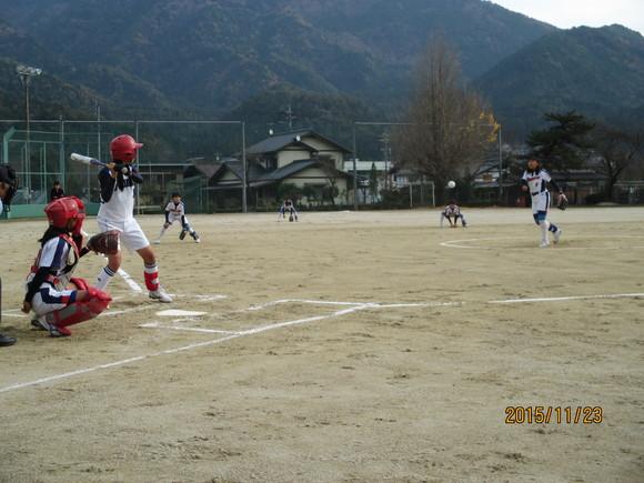 練習試合  対福岡中  平成27年11月23日(月)_d0010630_12113981.jpg