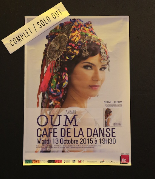 "Paris & Marseille 2015 (#6) : OUM ""Zarabi\"" Concert in Paris_d0010432_19473519.jpg"