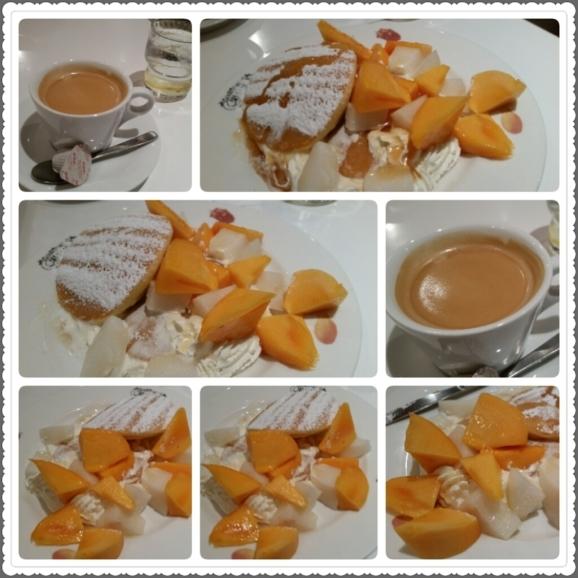 柿と和梨のモーニングパンケーキ@果実園♪_d0219834_11084802.jpg