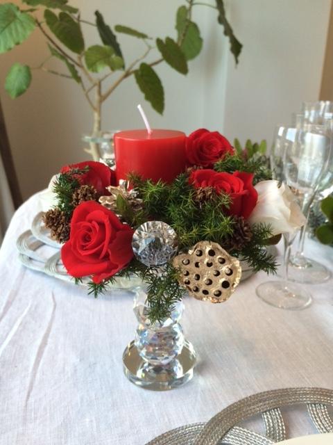 クリスマスのテーブル_d0139350_17164847.jpg