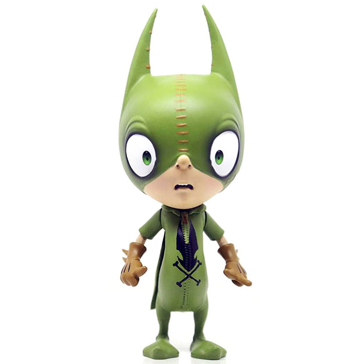 Greg Craola Simkins IMSCARED Ralf Figure: Green Edition_e0118156_12135790.jpg