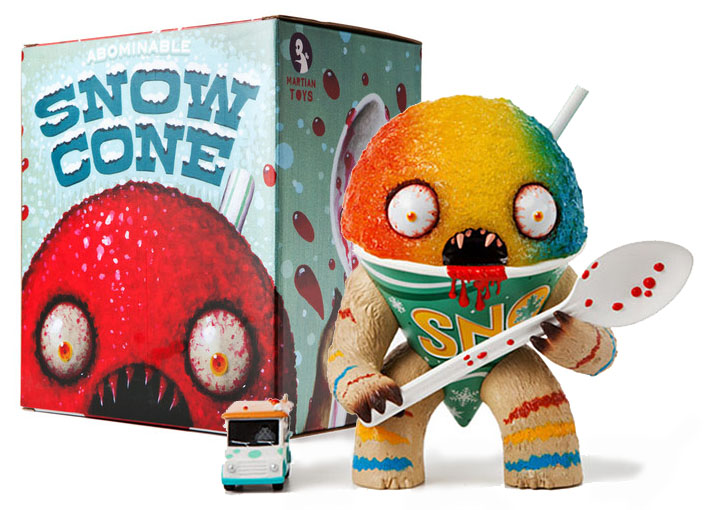 The Abominable Snowcone - Rainbow Edition by Jason Limon_e0118156_2351492.jpg