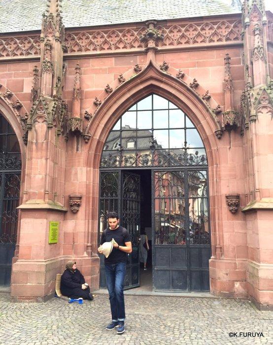ドイツ9日間の旅 28 フランクフルト大聖堂_a0092659_00574324.jpg