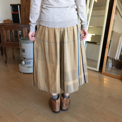 tamaki niime展 only one super wide pants②_f0212293_17302013.jpg