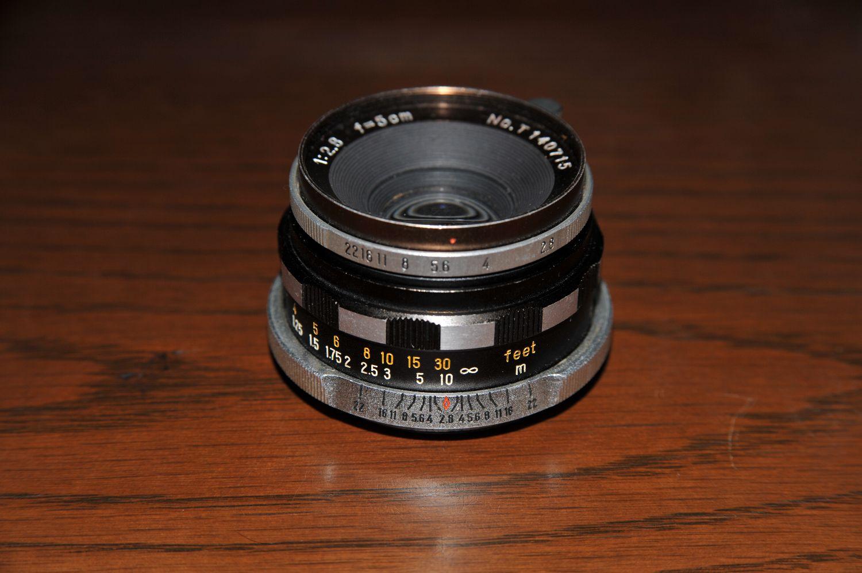 藤田光学製 ソリゴールミランダ50mmF2.8 試写_b0069128_18263670.jpg