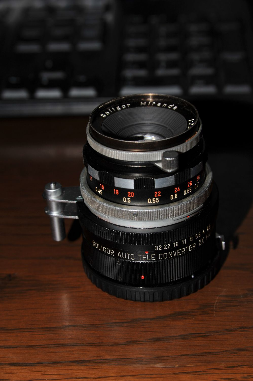 藤田光学製 ソリゴールミランダ50mmF2.8 試写_b0069128_1974526.jpg