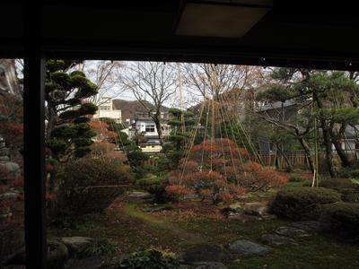 """「芭蕉の館」""""雪吊り""""風景_f0289632_1254356.jpg"""