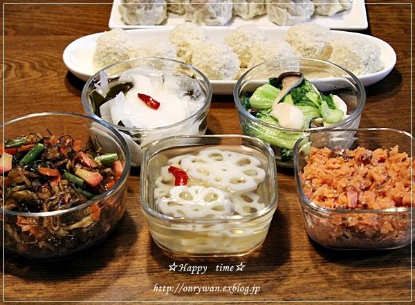 海苔巻き弁当と常備菜作り♪_f0348032_18495765.jpg
