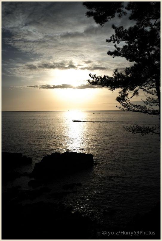 Fragment1/5 #100  Sunset Tojinbo  X-E1_e0063851_216307.jpg