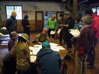 百々ヶ峰ふれあいの森で地図・コンパス勉強会を行いました。_e0064783_21580455.jpg