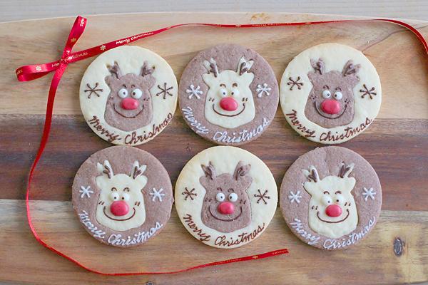 【トナカイのクッキー】動画公開とあんぱんとリエットとマカロン_f0149855_17353195.jpg