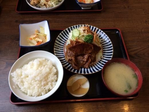 """松山店:近隣ランチ情報 """"ちとせ食堂""""_b0163075_13322134.jpg"""