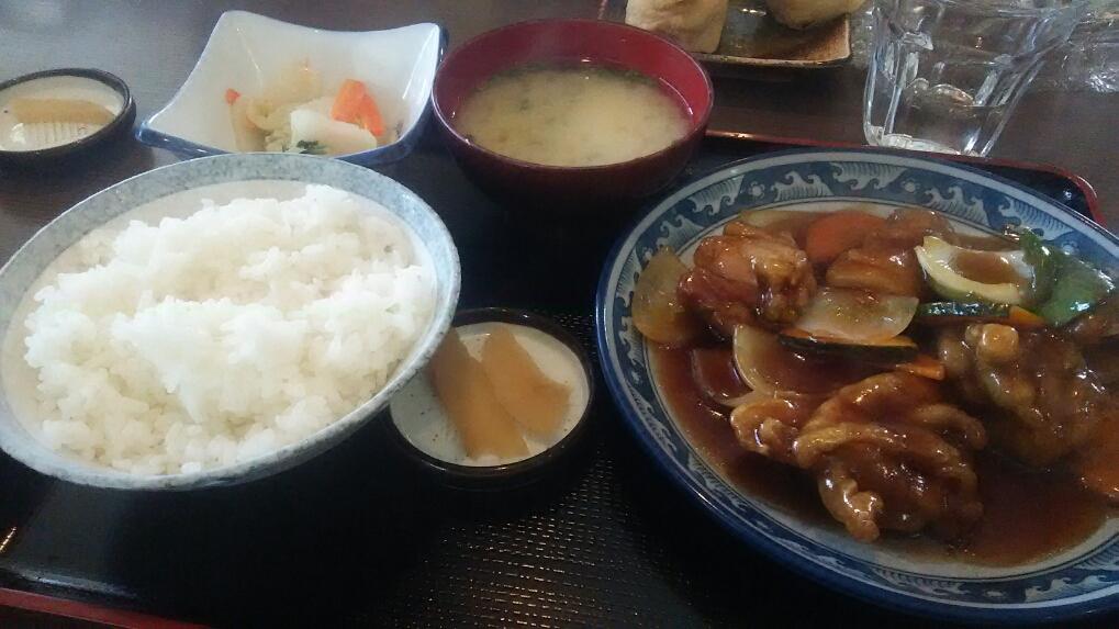 """松山店:近隣ランチ情報 """"ちとせ食堂""""_b0163075_13325537.jpg"""
