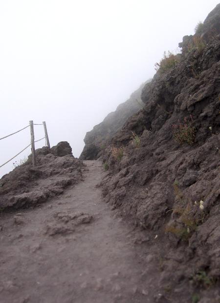 ヴェスーヴィオ山 2. 火の山には霧隠才蔵サマが君臨しておりました(^^ゞ_f0205783_17225576.jpg