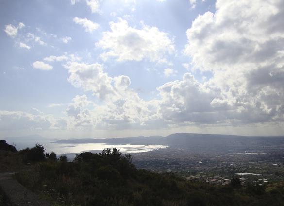 ヴェスーヴィオ山 2. 火の山には霧隠才蔵サマが君臨しておりました(^^ゞ_f0205783_1984044.jpg