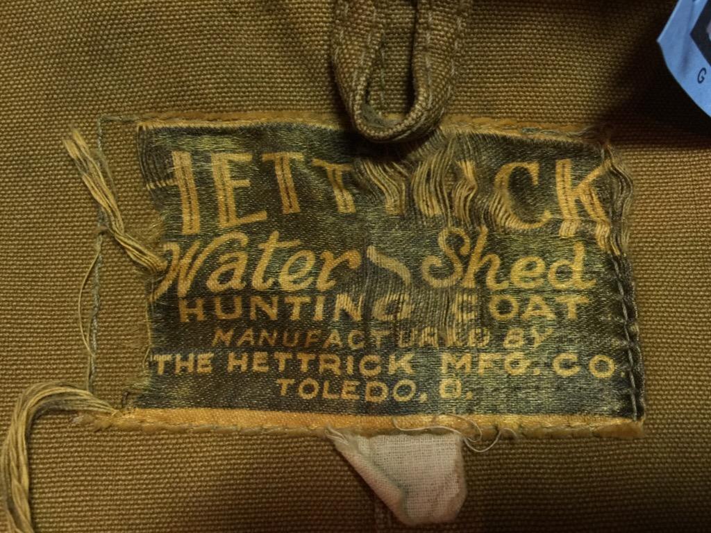 神戸店12/9(水)ヴィンテージ&スーペリア入荷!#3 1940\'s DeadStock Hunting JKT!Hunting Item!(T.W.神戸店)_c0078587_1637339.jpg