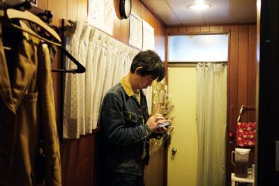 田浦ボン氏在廊しておりますよ。_e0158242_16142132.jpg