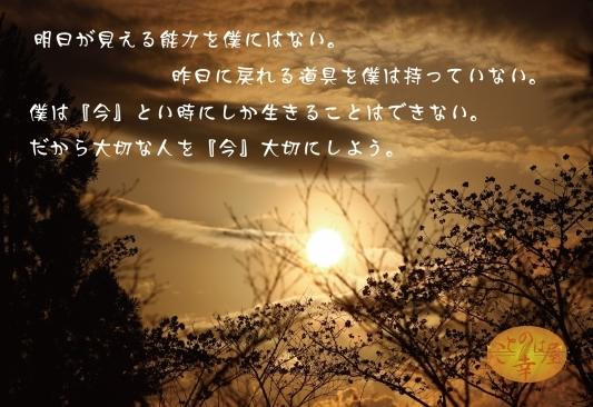 明日が見える能力持ってる人いる?_b0129362_22374085.jpg